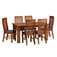 Acacia Wood Dining Room Furniture Dining Room Interesting Rectangular Brown Acacia Wood Dining