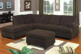 Reversible Sectional Sofa by Chaise Lounge Harding Microfiber Reversible Sectional Sofa In