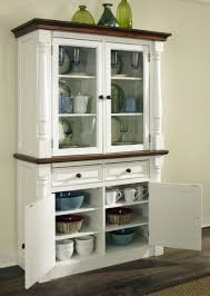 Kitchen Cabinet With Hutch Ebony Wood Driftwood Amesbury Door White Kitchen Hutch Cabinet