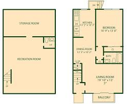 one house plans with basement basement apartment floor plans basement apartment floor