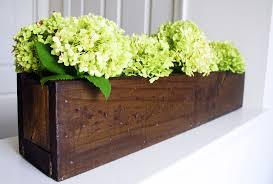 rustic planter box centerpiece shanty 2 chic