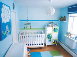 bedroom gorgeous blue color baby boy room decorating ideas with
