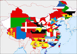 China Flag Ww2 This Wwii Era Map Of China Just Might Change The Way You View The