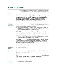 beautiful resume examples for students ideas podhelp info