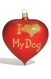 amazon com christmas dog ornament holiday