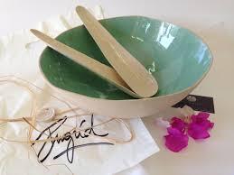 modern fruit bowl large salad ceramic bowl cream and turquoise bowl open bowl salad