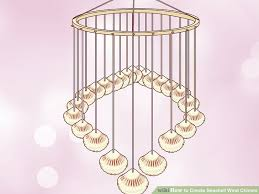 How To Make A Beaded Chandelier 3 Ways To Create Seashell Wind Chimes Wikihow