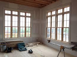 Home Decor Trims Windows White Trim With Wood Windows Decor Wood Window And White