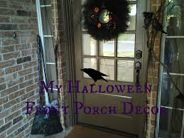 halloween decoration clearance my halloween front porch decor witch theme youtube