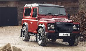 jeep defender for sale land rover defender v8 2018 limited edition car to go on sale for