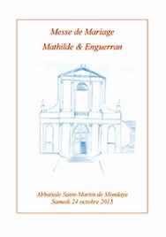 messe de mariage comment réaliser livret de mariage