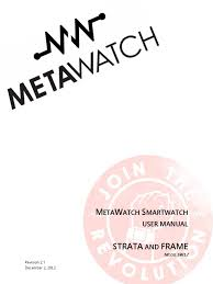 user manual metawatch smartwatch electromagnetic interference ios