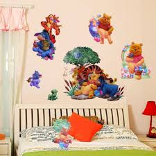 online get cheap uk selling aliexpress com alibaba group hot sell winnie the pooh art pvc wall stickers decals kids nursery room decor uk