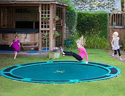 amazon com 10ft capital in ground trampoline kit sports u0026 outdoors