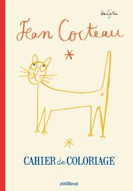 Cahier de coloriage Jean Cocteau 9782723493581 Amazoncom Books