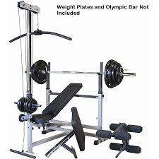 amazon com body solid gdib46lp olympic bench package includes