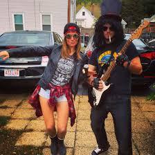 Iconic Couples For Halloween Axl Rose U0026 Slash Of Guns N U0027 Roses U2014 Fun U0026 Easy Couples Costume For