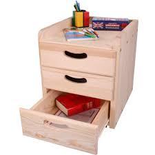 caisson bureau 3 tiroirs caisson de bureau en bois à 3 tiroirs woodland