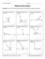 find the missing angle measure worksheet free worksheets library