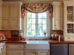 curtains for kitchen window kitchen exposed white wood beams full