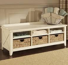 bench storage basket bench bench storage baskets furniture home