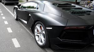 Lamborghini Aventador Matte Black - lamborghini aventador lp700 4 start up acceleration sound