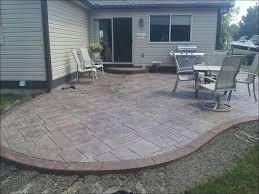 Outdoor Concrete Patio Designs Decor Tips Creative Concrete Patio Ideas For Patio Style