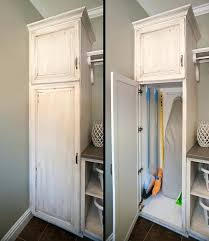 storage cabinets for mops and brooms broom cupboard storage large size of closet closet cabinet broom