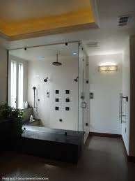 Replace Shower Door Glass by Frameless Shower Door With Glass Shower Wall And Walk In Shower