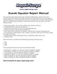 2009 suzuki equator fuse box diagram wiring diagrams