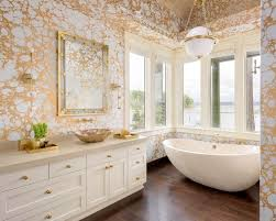 wallpaper bathroom ideas gold wallpapers