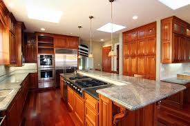 Rustic Kitchen Countertops by Rustic Kitchen Island With Wood Countertops Plus Sink Illuminated