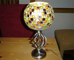 Mosaic Table Lamp Funky Handmade Table Lamps For Your Home Full Home Living
