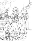 Prophet Samuel Coloring Pages Free Coloring Pages Samuel Coloring Pages