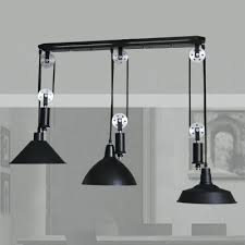 Pulley Pendant Light Pulley Pendant Lighting Pulley Pendant L Industrial Pulley