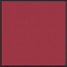 bungalow flooring waterguard red black snow mobile 44 25 in x 49