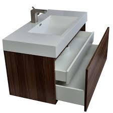 bathroom modern minimalist floating bathroom vanity with vessel