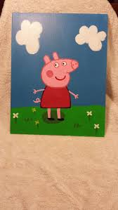 25 peppa pig painting ideas peppa pig