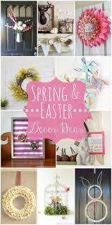 spring and easter decor ideas