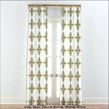 White And Yellow Curtains Gray And Yellow Curtains Attractive White And Grey Curtains And