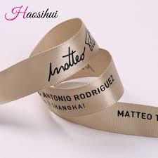 custom ribbon with logo free design 3 4 19mm wholesale ribbon custom logo diy printing