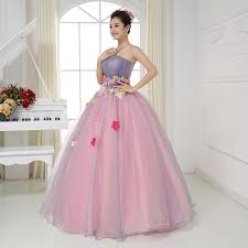 Ball Gown Halloween Costume Luxury Ruffled Waist Flower Ball Gown Sissi Princess Medieval