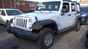 used one owner 2015 jeep wrangler unlimited sport chicago il