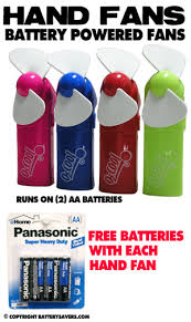 hand held fans for church hand held fan powered by two aa batteries these personal