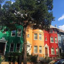 row houses photo of the week rainbow row houses in dc dwell