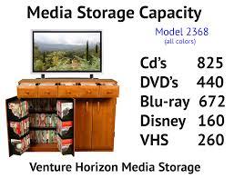 Cd Cabinet With Drawers Venture Horizon Media Cabinet With Drawers Holds Hdtv U0026 Dvds Cds