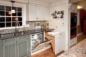 distressed kitchen with island custom cabinetry by ken leech distressed kitchen with island