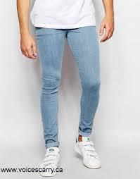 mens light blue jeans skinny asos jeans canada men s women s asos extreme super skinny