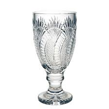 Waterford Vase Patterns Seahorse Collection Footed Vase 34cm Waterford Crystal