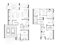 the richmond double storey home design floor plan 296 8m2 4